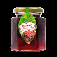 Варенье из сосновой шишки с ягодами клюквы 240 г (Сам бы ел)