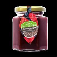 Десерт Лесные ягодки с семенами чиа (малина,клубника, смородина черная, ежевика, вишня) 200 гр (Сам бы ел)