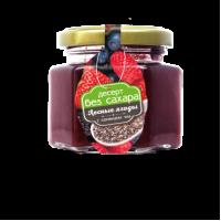 Десерт Лесные ягодки с семенами чиа (малина,клубника, смородина черная, ежевика, вишня) 130 гр (Сам бы ел)