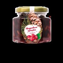 Кедровый орех с ягодами брусники 140 г (Сам бы ел)