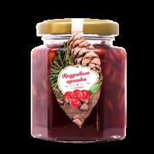 Кедровый орех с ягодами клюквы 220 г (Сам бы ел)