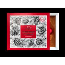 Кедровый грильяж в шоколадной глазури с клюквой 120 г (Сам бы ел)