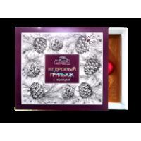 Кедровый грильяж в шоколадной глазури с черемухой 120 г (Сам бы ел)