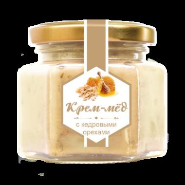 Крем-мёд с кедровым орехом 180 г (Сам бы ел)