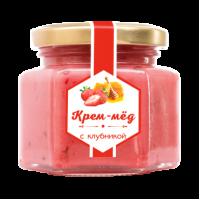 Крем-мёд с клубникой 180 г (Сам бы ел)