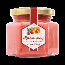 Крем-мёд с клюквой 180 г (Сам бы ел)