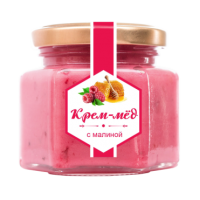 Крем-мёд с малиной 180 г (Сам бы ел)