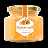 Крем-мёд с облепихой 180 г (Сам бы ел)