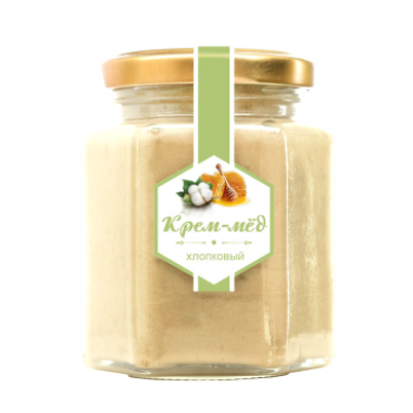 Крем-мёд хлопковый 260 г (Сам бы ел)