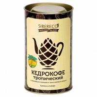 Кедрокофе Тропический с кокосовыми сливками и тростниковым сахаром Тубус 500г