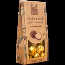 Кедровый грильяж классический крафт-пакет 120 гр Сибирский знахарь