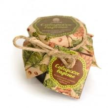 Варенье из сосновых шишек с кедровым орехом 200гр Сибирский кедр