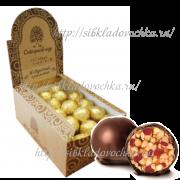 Грильяж кедровый с клюквой 700 гр Конфеты с грильяжным корпусом в шоколадной глазури