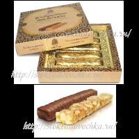 Кедровые палочки 120 гр Конфеты с грильяжным корпусом в шоколадной глазури