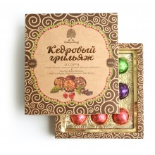 Набор конфет Сибирский кедр ассорти 200 гр