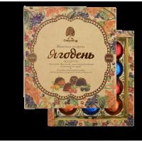 Мармелад Ягодень в шокол глазури ассорти 200 гр