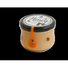 Крем-мед с кедровым орехом Сибирский кедр 220 гр