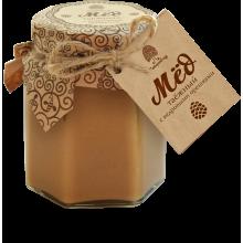 Мед Таежный с кедровыми орехами 220 гр