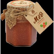 Мед Таежный с соком брусники 220 гр