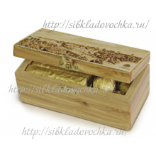 Кедровый ларец малый Подарочный набор