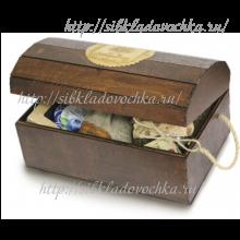 Сундучок лакированый Подарочный набор