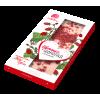 Цветной шоколад с клубникой (Сибирский кедр) 100 гр