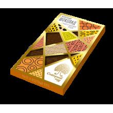 Молочный шоколад с манго и кедровым орехом (Сибирский кедр) 100 гр