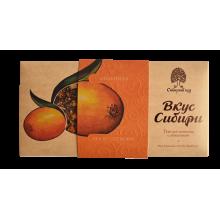 Темный шоколад Вкус Сибири с облепихой
