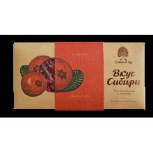 Темный шоколад Вкус Сибири с клюквой