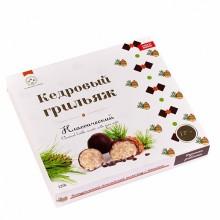 Кедровый грильяж классический в натур шоколаде Солнечная Сибирь 120 гр