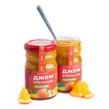 Джем без сахара апельсиновый (Солнечная Сибирь) 240 гр