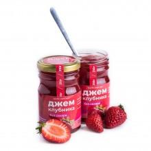 Джем без сахара клубничный (Солнечная Сибирь) 240 гр