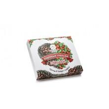 Кедровый грильяж с брусникой в шок глазури Солнечная Сибирь 120 гр