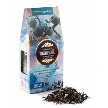 Иван-чай Снежный вечер с черникой картон-домик (Солнечная Сибирь) 50 гр