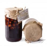 Ореховое ассорти в сосновом сиропе грецкий орех фундук миндаль Таёжный тайник 420 гр