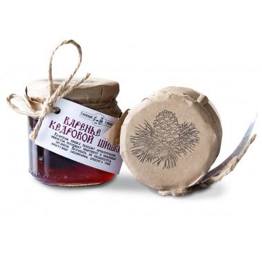 Варенье из сосновой шишки до 2 5см Таёжный тайник 440 гр