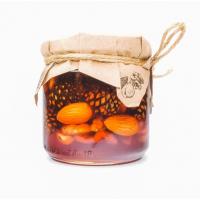 Варенье из сосновой шишки с орехами 50 50% грецкий орех фундук миндаль Таёжный тайник 240 гр