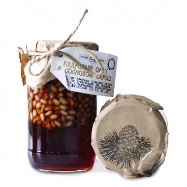 Кедровый орех в кедровом сиропе (Таёжный тайник) 240 гр