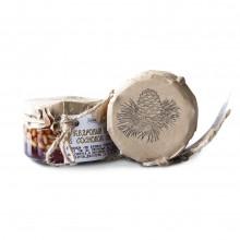 Варенье из сосновой шишки с кедровым орехом 50 50% Таёжный тайник 240 гр