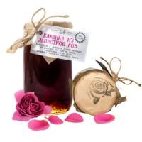 Варенье из лепестков роз эфиромасличная роза Таёжный тайник 260 гр