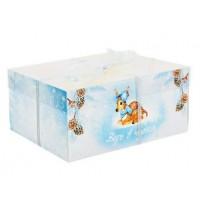 Коробка для капкейка  Верь в чудеса  16 × 23 × 10 см