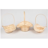 Корзина плетеная бамбук 30*13*15 36 см