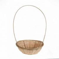 Корзина плетеная бамбук D19*H5 см