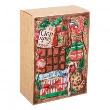 Коробка складная  Сюрприз внутри  16 × 23 × 7 5 см