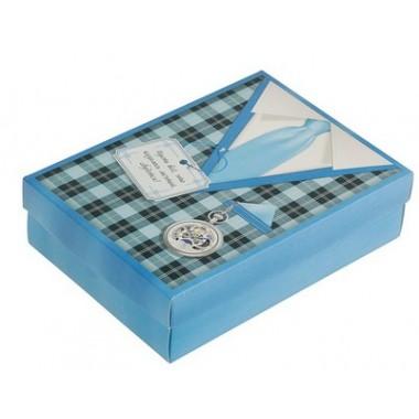 Подарочная коробка сборная 23 февраля 21 х 15 х 5 7 см 3299581
