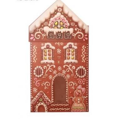 Коробка складная  Пряничный домик  15 × 7 × 22 см
