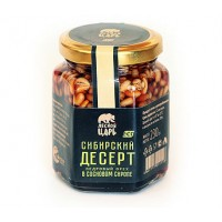 Десерт Сибирский кедровый орех в сосновом сиропе ст б 230 гр