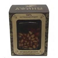 Золотая коллекция Десерт Ягодный кедровый орех с вяленой клюквой в сосновом сиропе 230 гр
