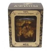 Золотая коллекция Ядра грецких орехов с мёдом 230 гр