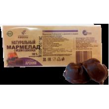 Мармелад в подложке в шоколаде Арония с мёдом 54 гр